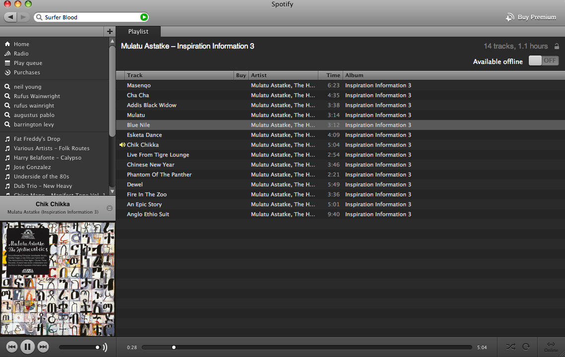 Spotify + Airfoil = The Great Jukebox In the Sky | Rock River Music